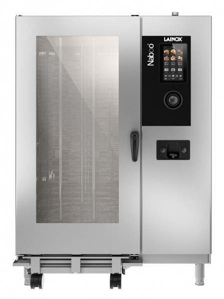 Großküchen-Kombidämpfer 20 x GN 2/1 Naboo by Lainox mit elektrischer Dampferzeugung per Boilersystem