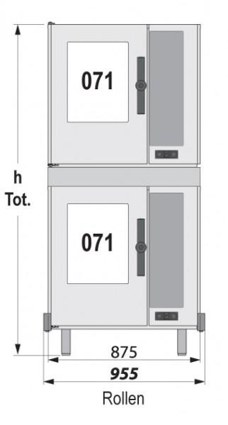 LEO Stapelkit für Modelle 071 und 071 unteres Gerät elektrisch