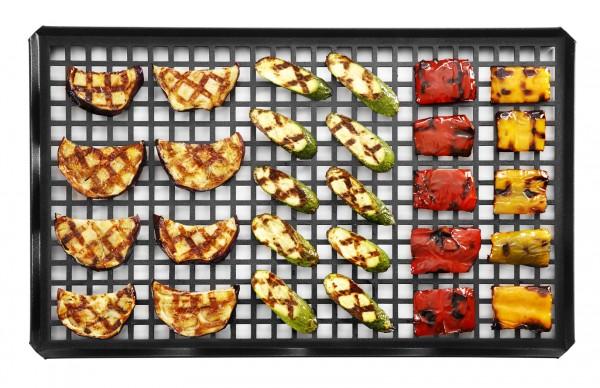 SQUARE GRILL Gemüse Grillrost Alu - verschiedene Größen