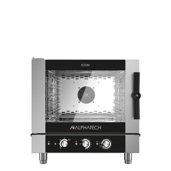 ICON Kombidämpfer 5xGN 1/1 Elektro - mechanische Steuerung