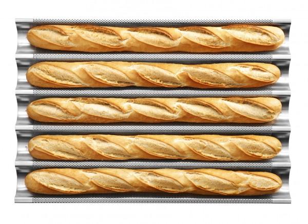 BAGUETTE PAN Backblech Alu h 40 mm 600 x 400
