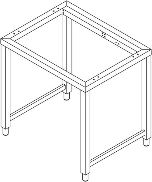 Sonder - Untergestell für 10 x GN 2/1 Geräte