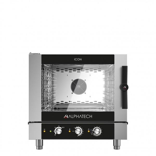 ICON Kombidämpfer 5xGN 1/1 Gas – elektromechanische Steuerung