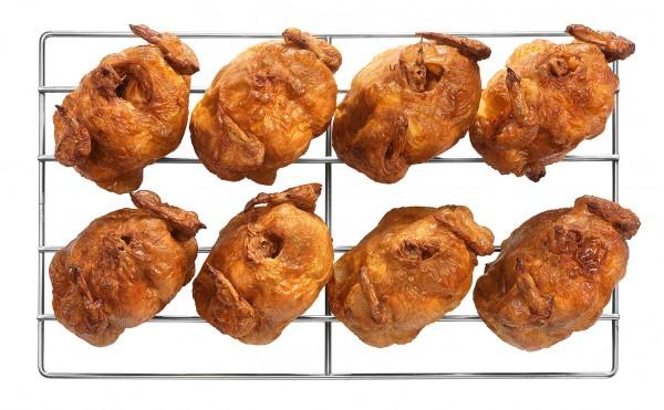 CHICKEN SPIT Hächnchen Grillrost - verschiedene Größen