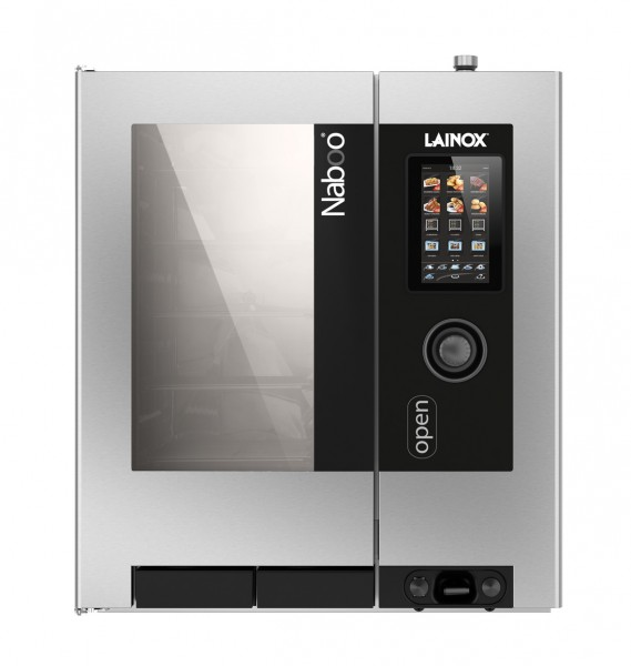 NABOO powered by Lainox - Self-Cooking-Kombidämpfer mit Touchscreen 10 x GN 1/1 Direkteinspritzer